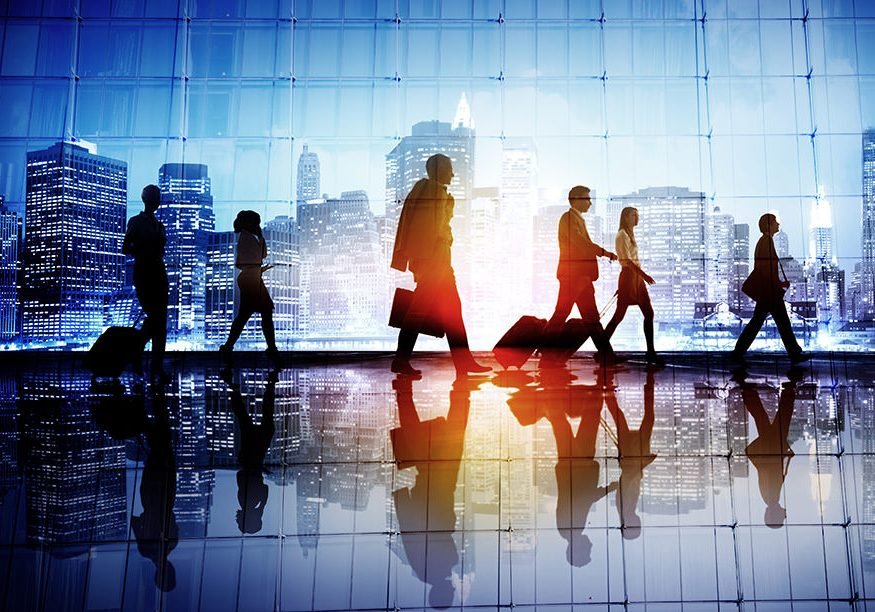 Blenheim-digital-accounting-Commuter Travel Business People Corporate Walking Concept